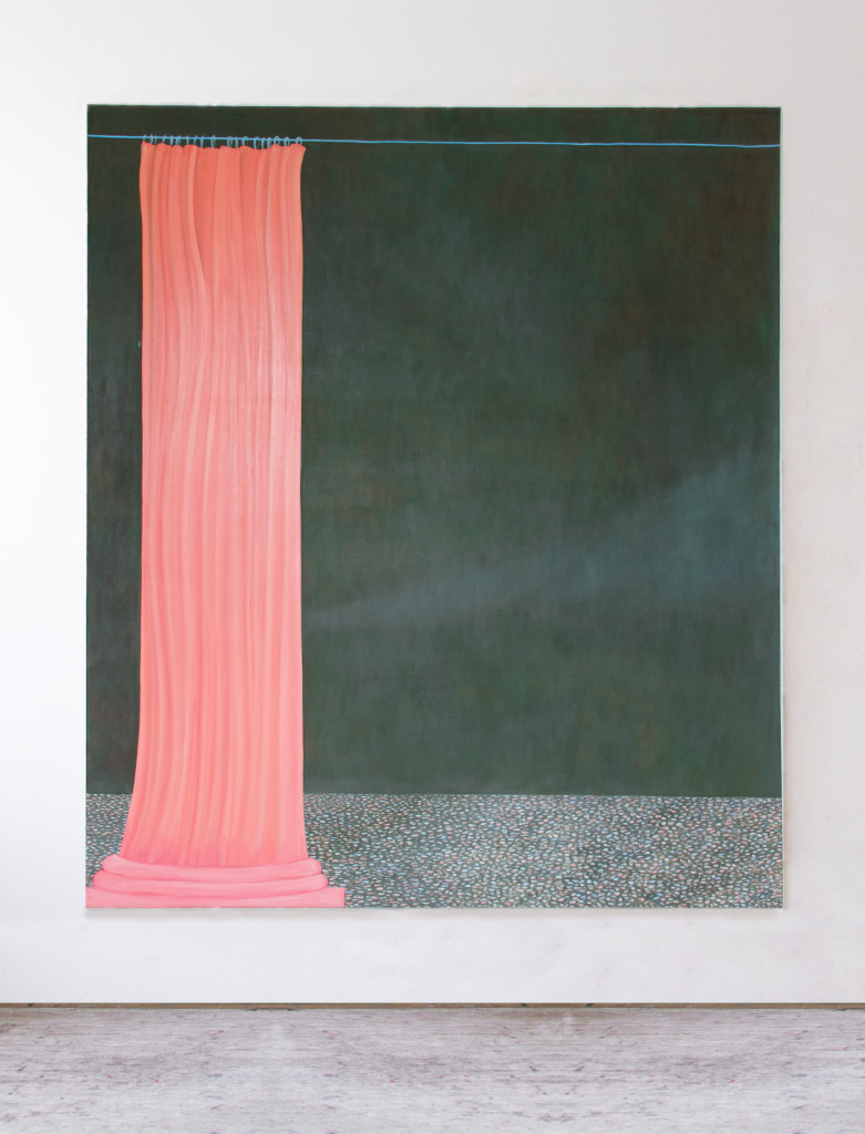 Untitled (I wish you where more flexible),  180x150 cm,  oil on canvas,  2019