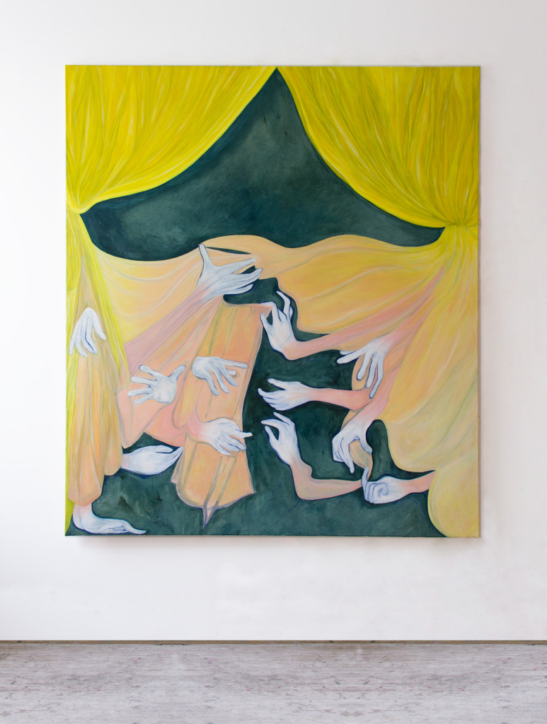 Untitled (the unloved painting),  170x150 cm,  oil on canvas,  2020